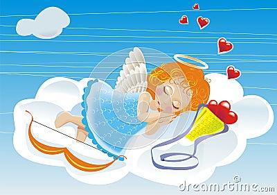 Vektor small angel