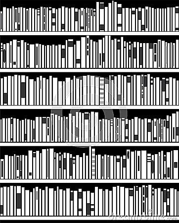 Bücherregal schwarz weiß  Bücherregal Clipart Schwarz Weiß   ambiznes.com