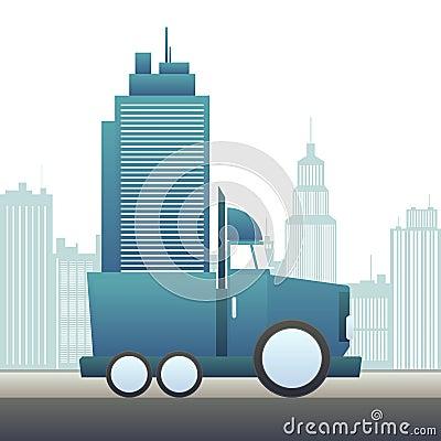 Flyttning en kontorsbyggnad