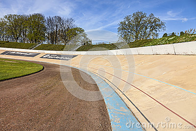 Velódromo de Roubaix Foto de archivo editorial