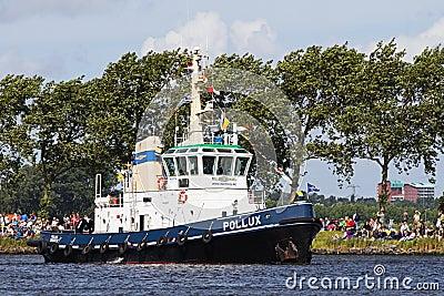 Vela Amsterdam 2010 - Vela-nella parata Fotografia Editoriale