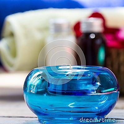 Velas da aromaterapia