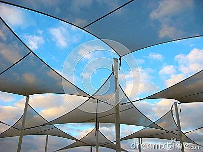 Velas de la cortina