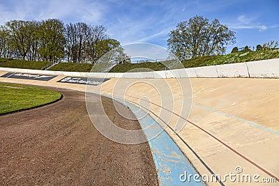 Velodrome van Roubaix Redactionele Stock Foto