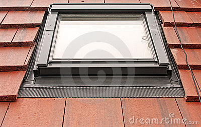 Velux Roof Light on Tiles