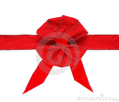 Velvet Bow and Ribbon
