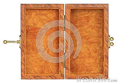 Velvet lined box
