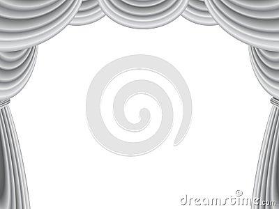 Velvet Stage Curtain
