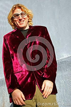 The velvet suit