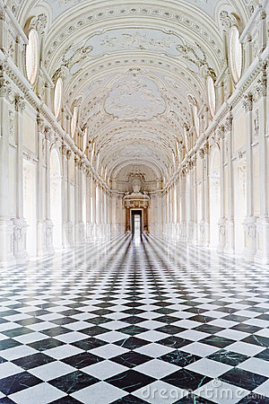Venaria дворца королевское Редакционное Фото