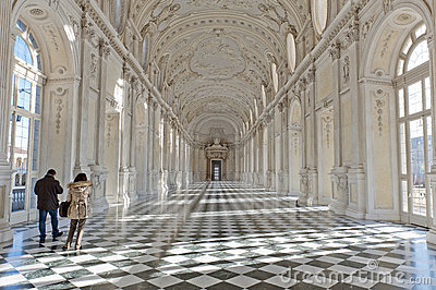 VENARIA ROYAL PALACE Editorial Photography