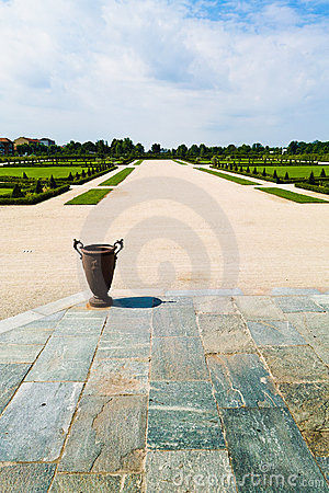 Venaria s royal palace gardens Editorial Image
