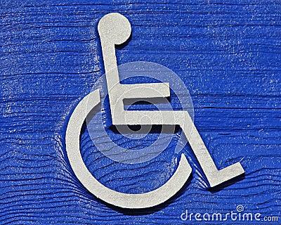 Venatura del legno di handicap