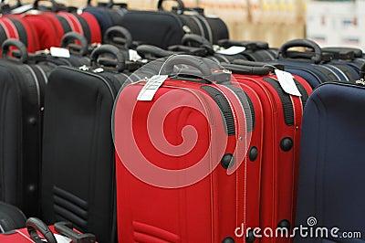 Venda das malas de viagem
