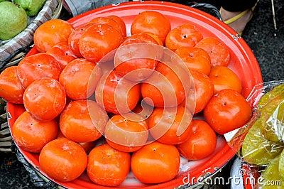 Vendas de Maketing, fruta fresca