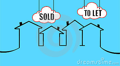 Vendido o dejar su casa