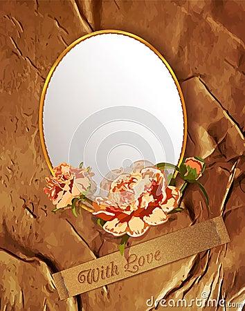 - vendimia-del-vector-con-flores-y-un-espejo-thumb23621594