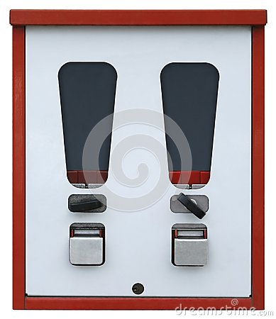 Vending machine front