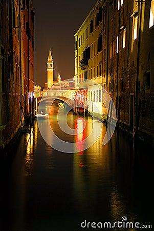Free Venecian Night Scene 1 Stock Photography - 670612