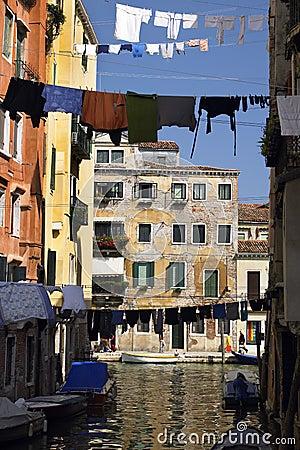 Venedig - Italien Redaktionell Bild