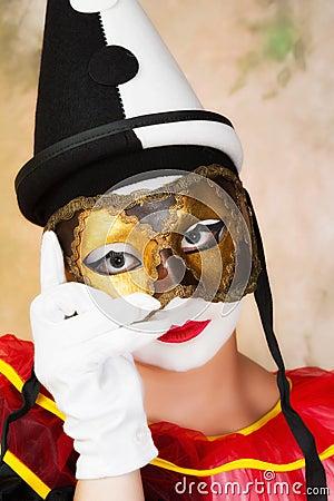 Venedig maskering