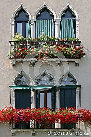 Venetian окна
