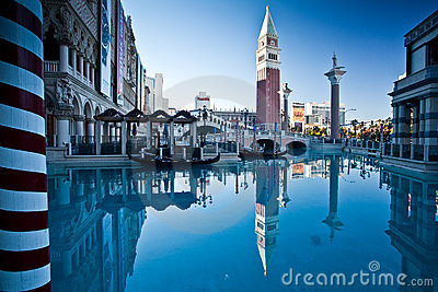 The Venetian Editorial Stock Image