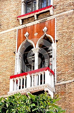 Venetian  Balcony and Windows