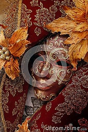 Venetian carneval mask