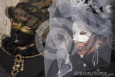 Venetian carnival-2013 Editorial Photo