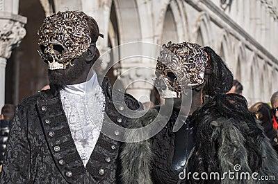 Venetian carnival-2013 Editorial Image