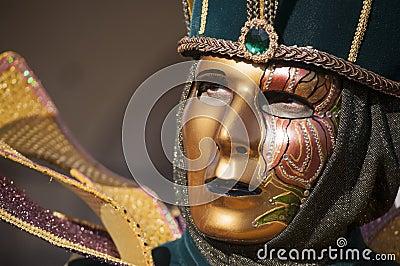 Venetian carnival-2013 Editorial Photography
