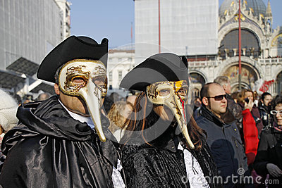 Venetian Carnival Editorial Photography