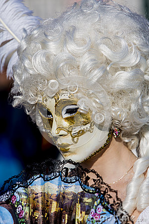 Venetian Carnival Mask Editorial Photo