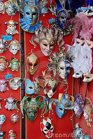 Venetian Carnival Masks 2 Stock Photos - Image: 4525353