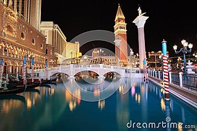 Venetian Casino in Las Vegas Editorial Photo