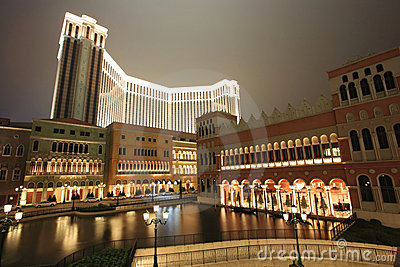 Venetian Casino in Macao Editorial Stock Photo