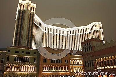 Venetian Casino,Macao,China Editorial Stock Photo