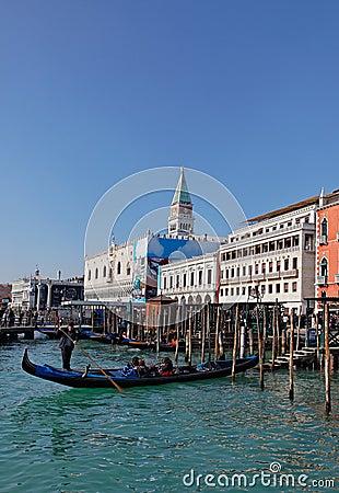 Venetian Cityscape Editorial Stock Photo