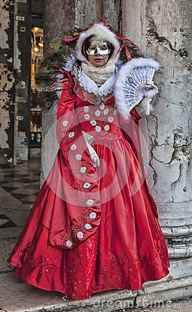 Venetian Disguise Editorial Photography