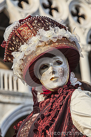 Venetian Disguise Editorial Stock Photo
