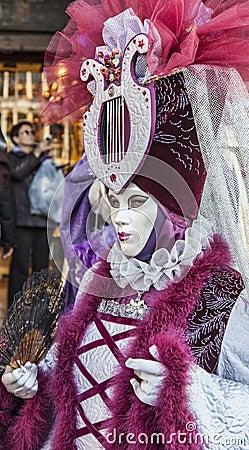 Venetian Disguise Editorial Photo