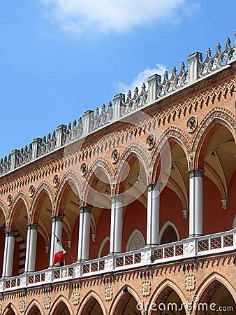 Venetian facade in Padua