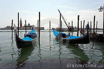 Venetian gondola s Editorial Photography