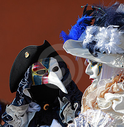 Venetian gossip Editorial Photo