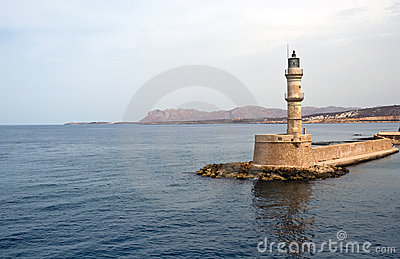 Venetian Harbour In Chania City In Crete . Stock Photography - Image: 17505212