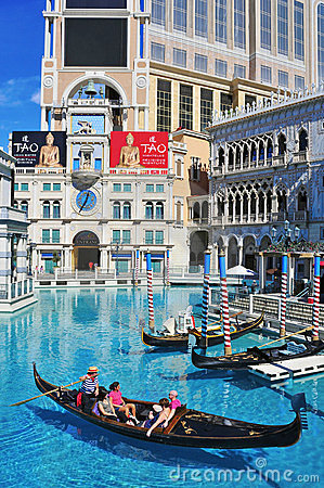 The Venetian Hotel Casino in Las Vegas Editorial Photo
