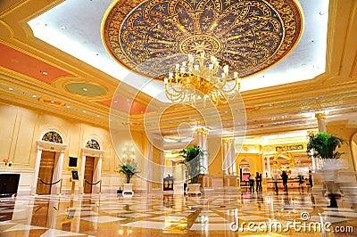 The Venetian Hotel s Hall