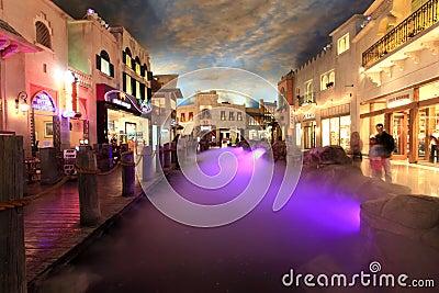 Venetian Las Vegas Editorial Stock Image