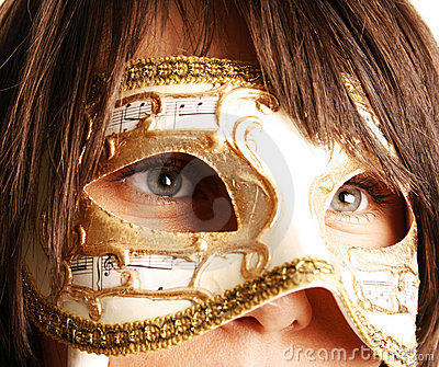 Venetian Mask Stock Photography - Image: 12517472